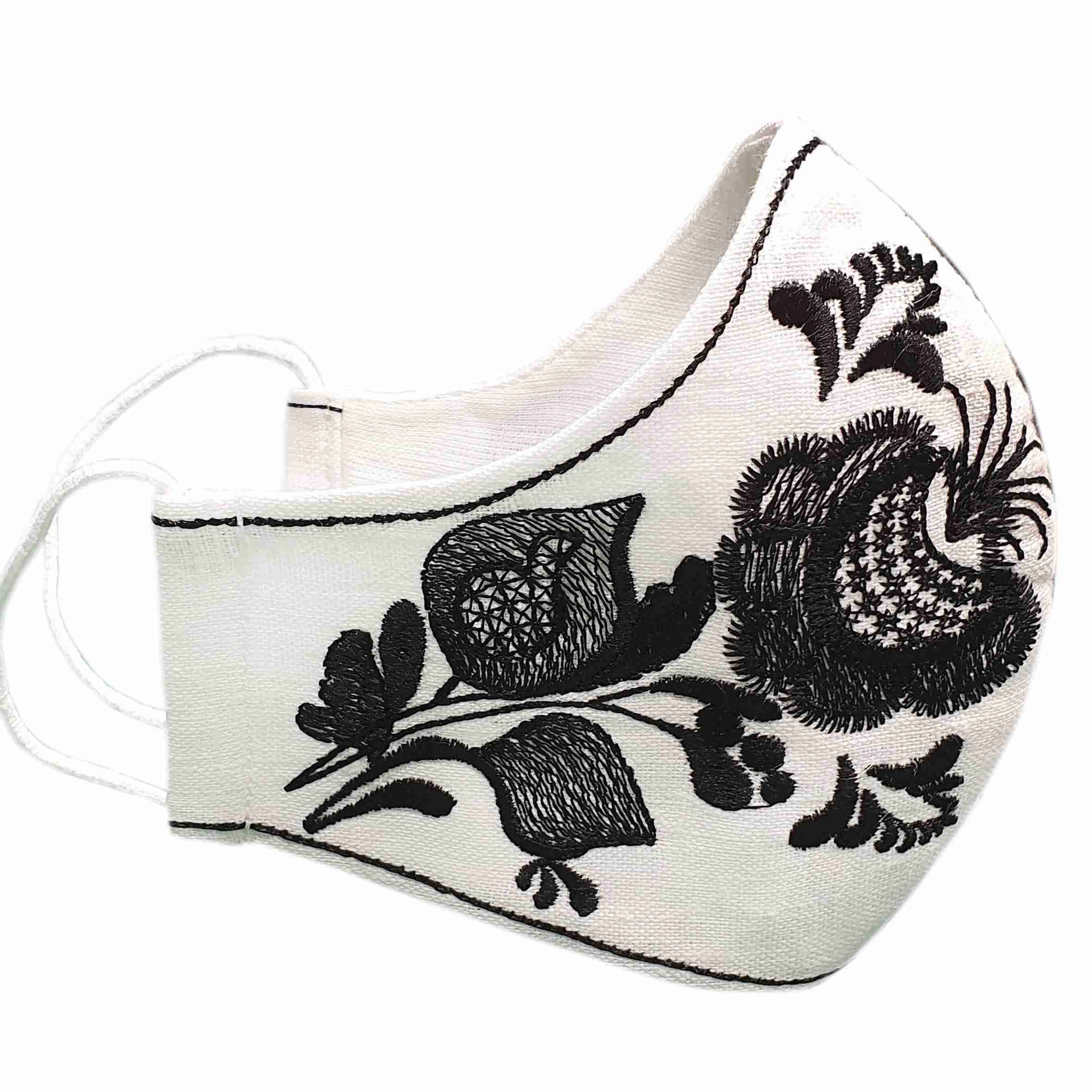 buy protective masks with embroidery