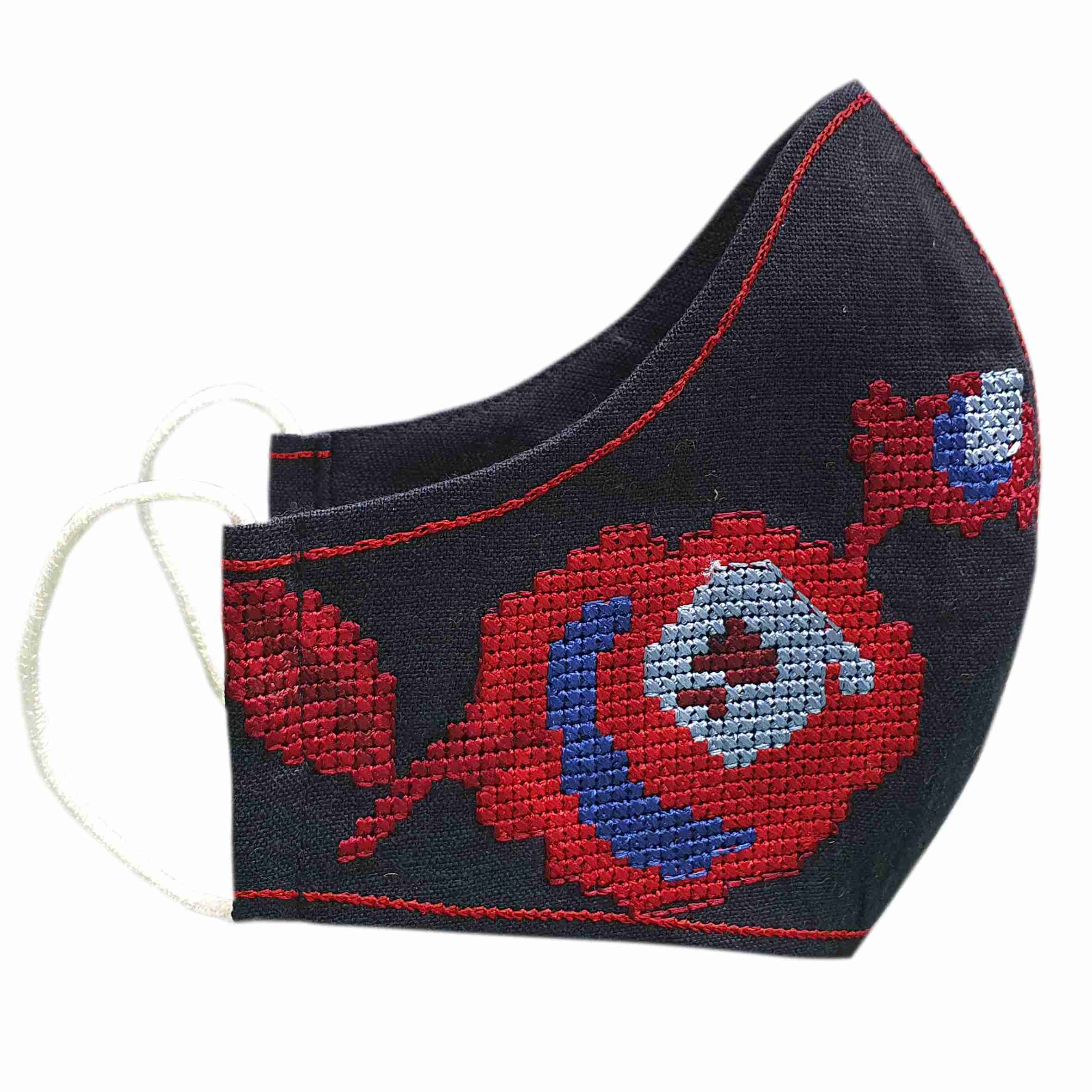 masks with embroidery to buy Ukraine