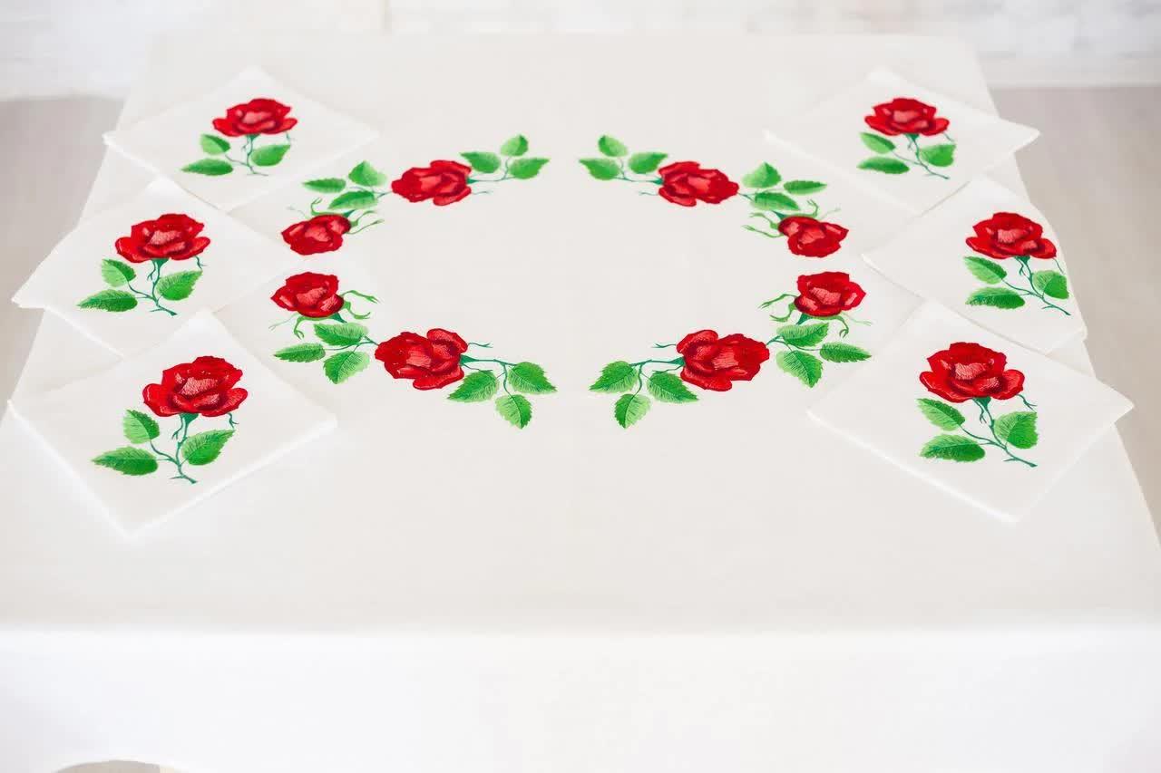 Ukrainian tablecloth
