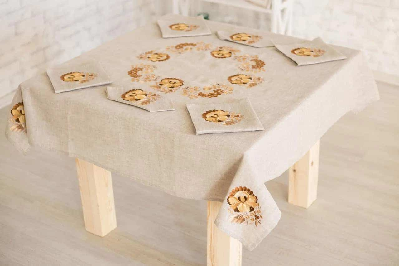 buy linen tablecloth dnipro