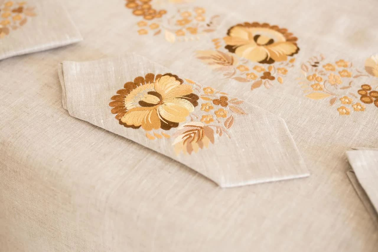 tablecloth on the table Dnipro