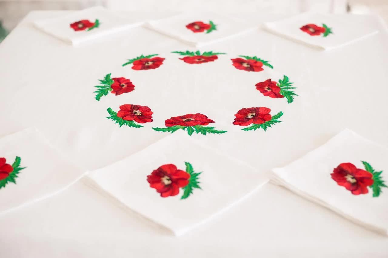 linen tablecloth buy kiev
