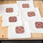 buy napkins with embroidery