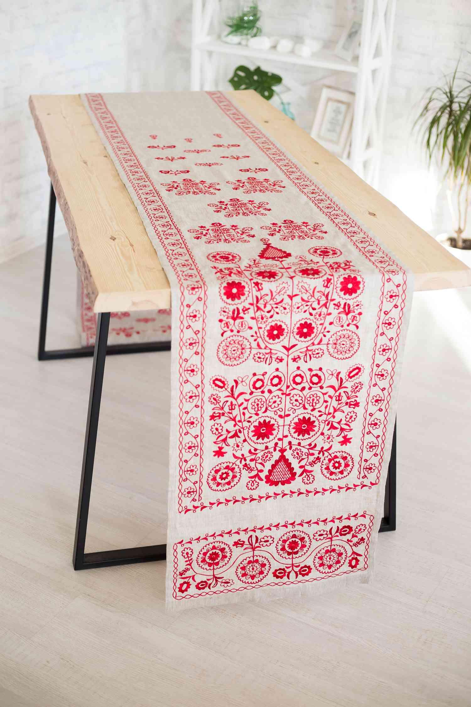 Ukrainian towels embroidery