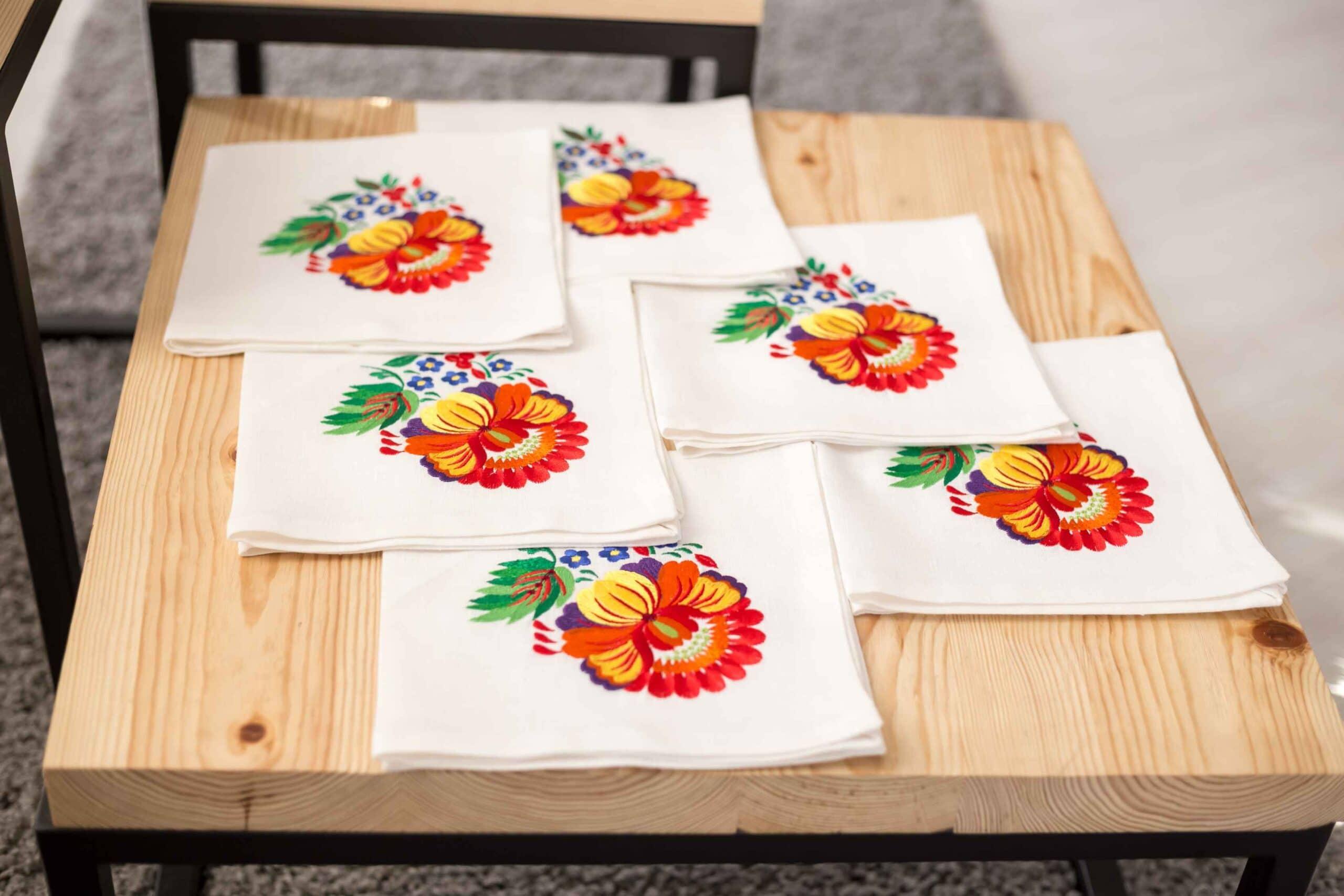 Napkin with embroidery buy in Kiev