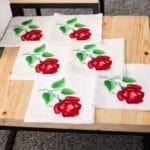 вишивка трояндами