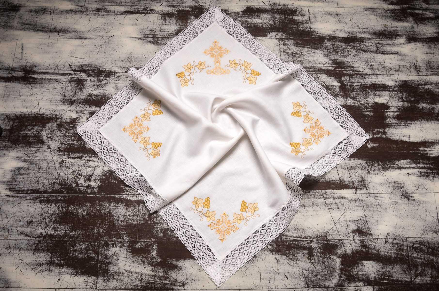 крыжма для крещения девочке