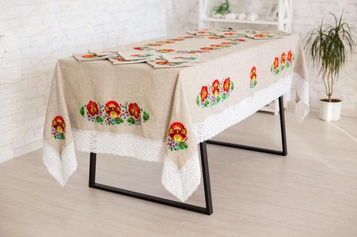table napkins restaurant