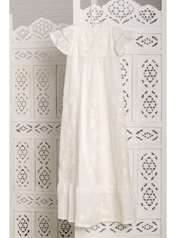 christening dress long