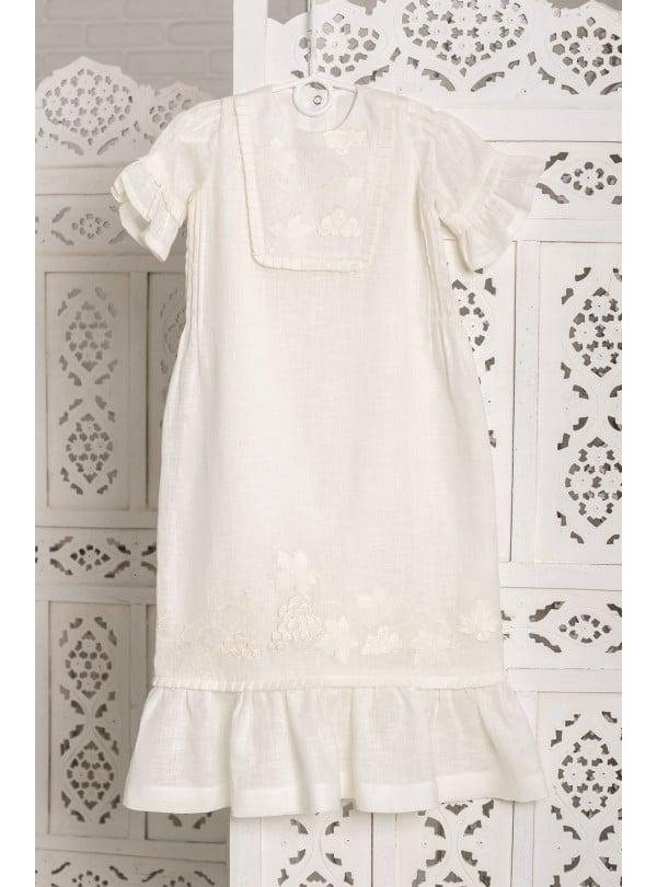 детские крестильные платья