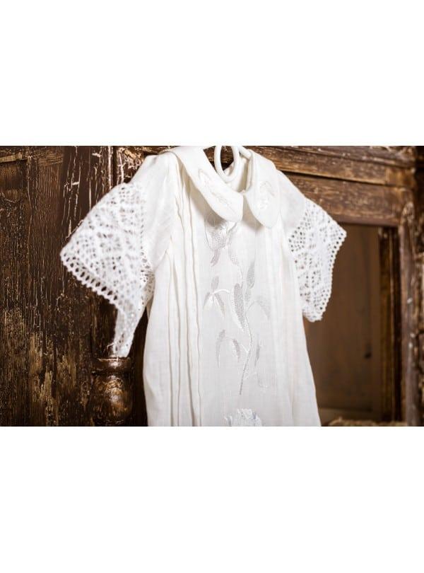 baptismal dress cotton