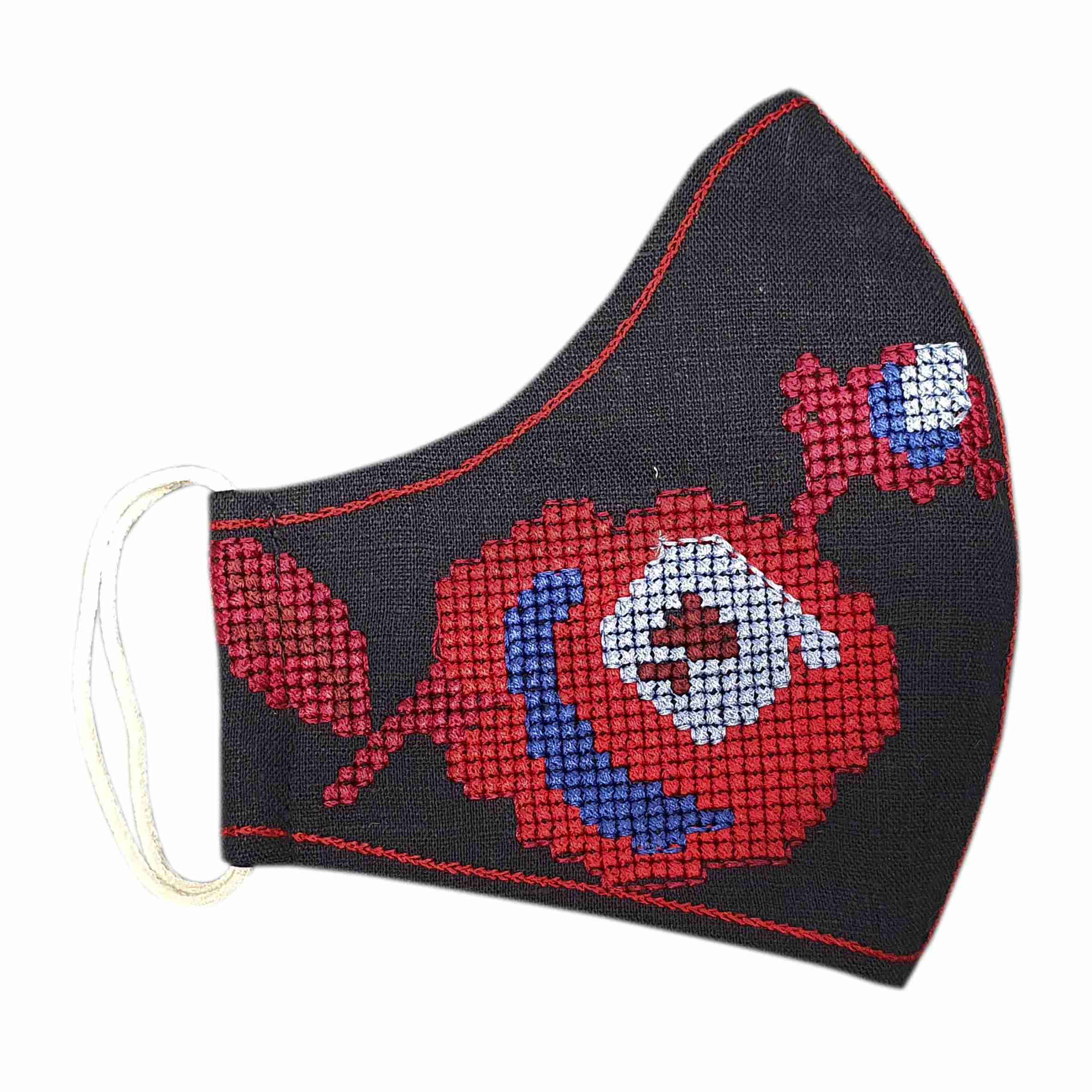 masks with embroidery to order