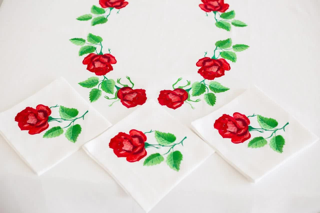 tablecloth embroidery