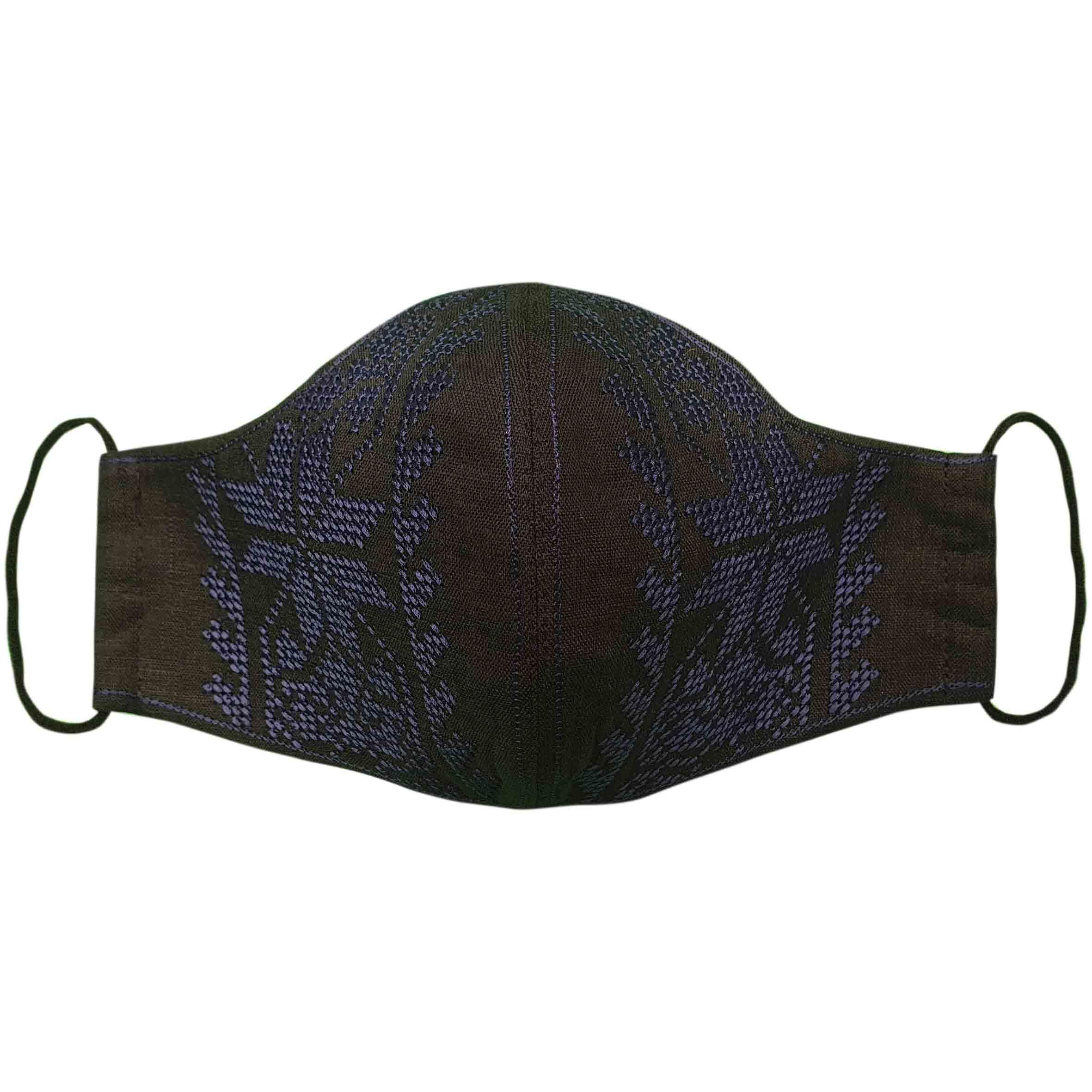 маски черные многоразовые