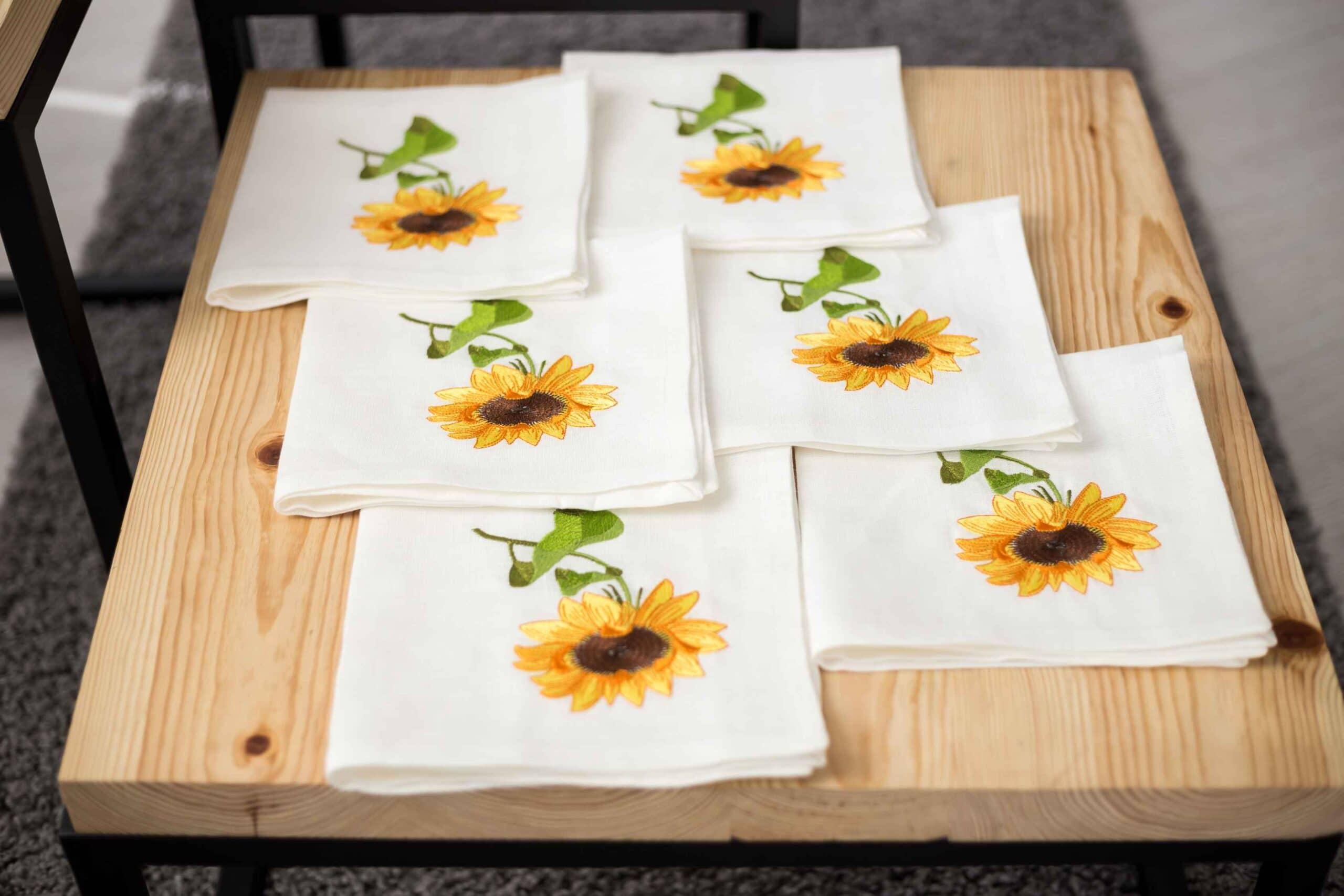 серветка соняшник