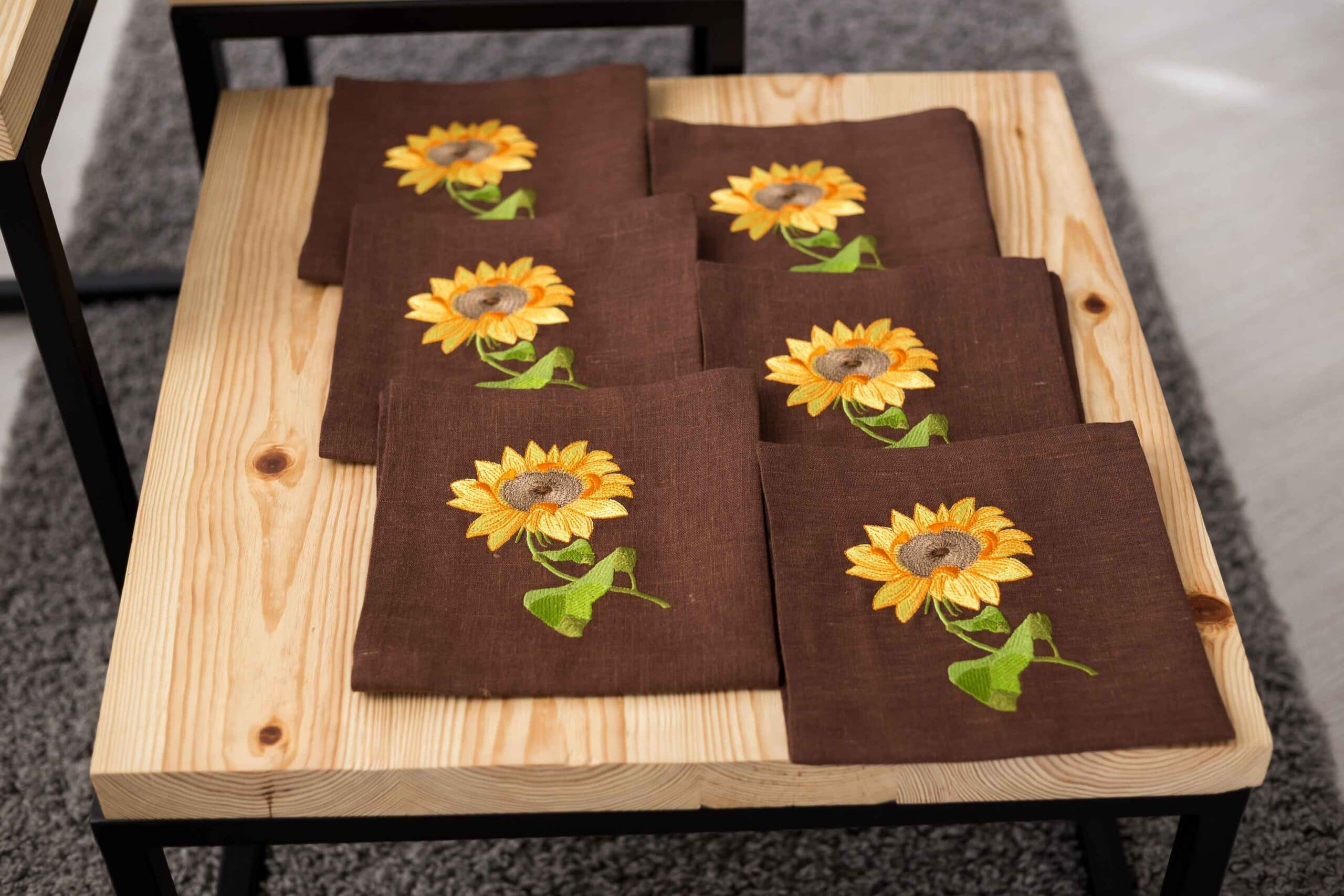 napkins for embroidery