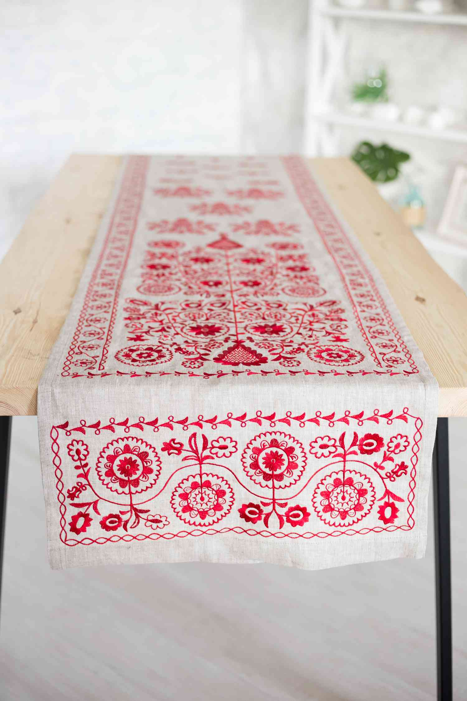 Ukrainian embroidered towels