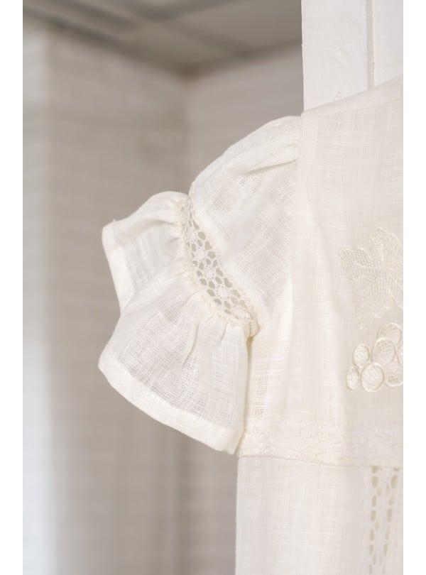 крестильное платье для новорожденной