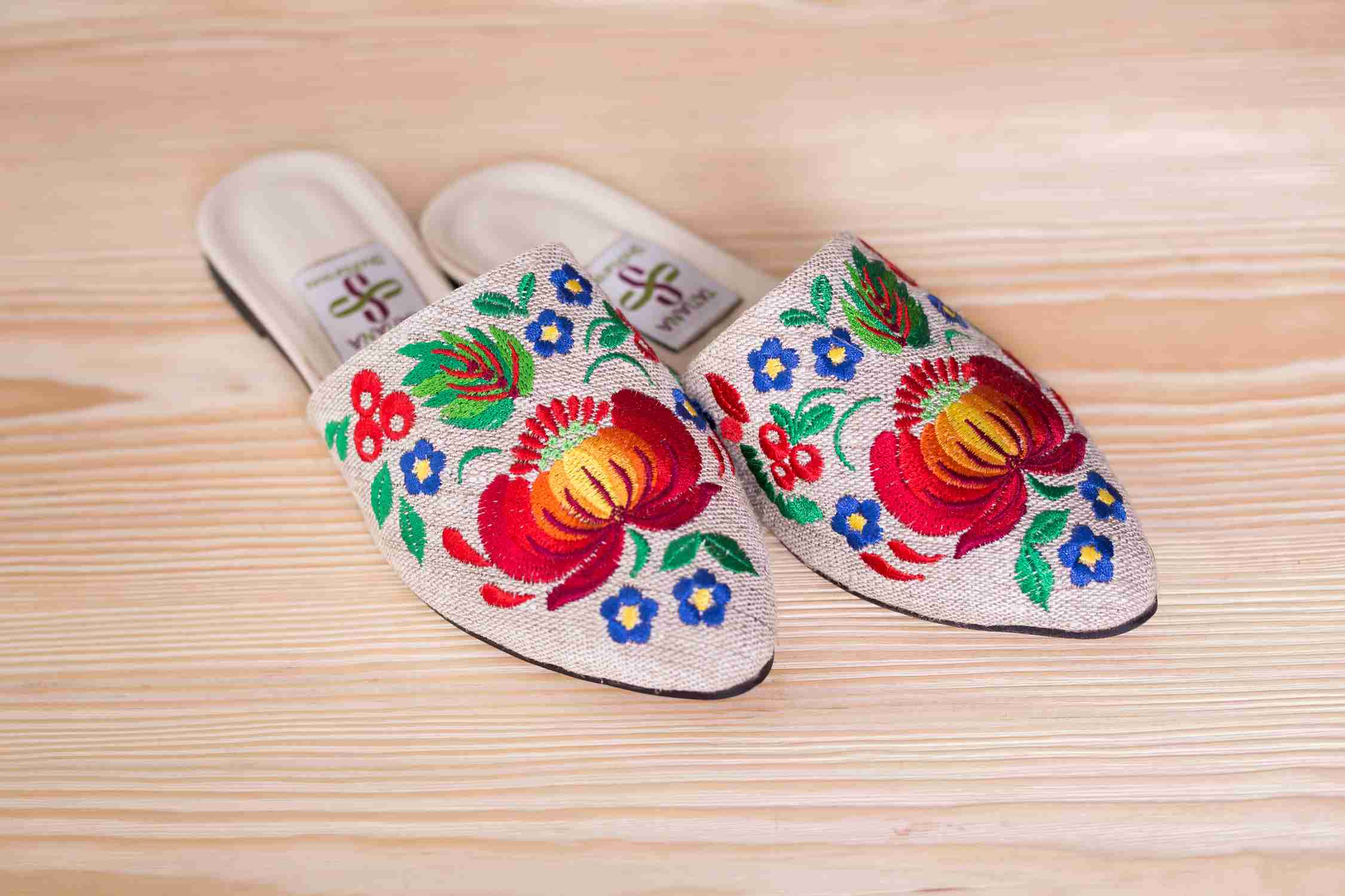 shoes with embroidery heels to buy