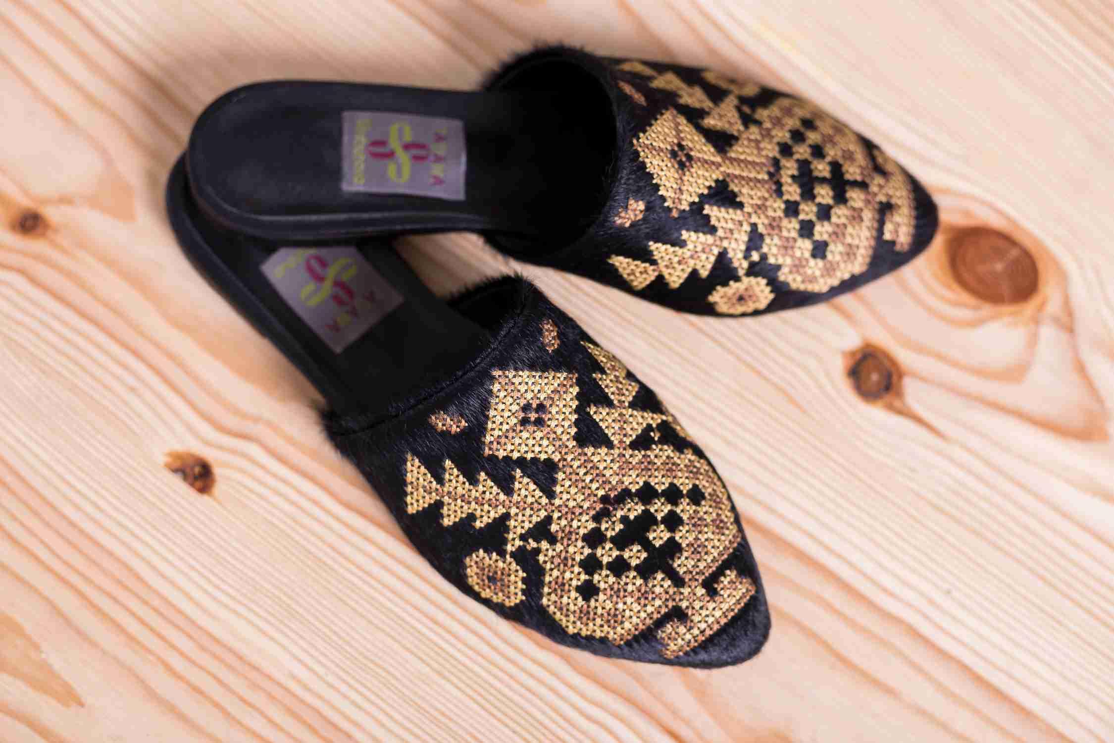 туфлі з вишивкою купити
