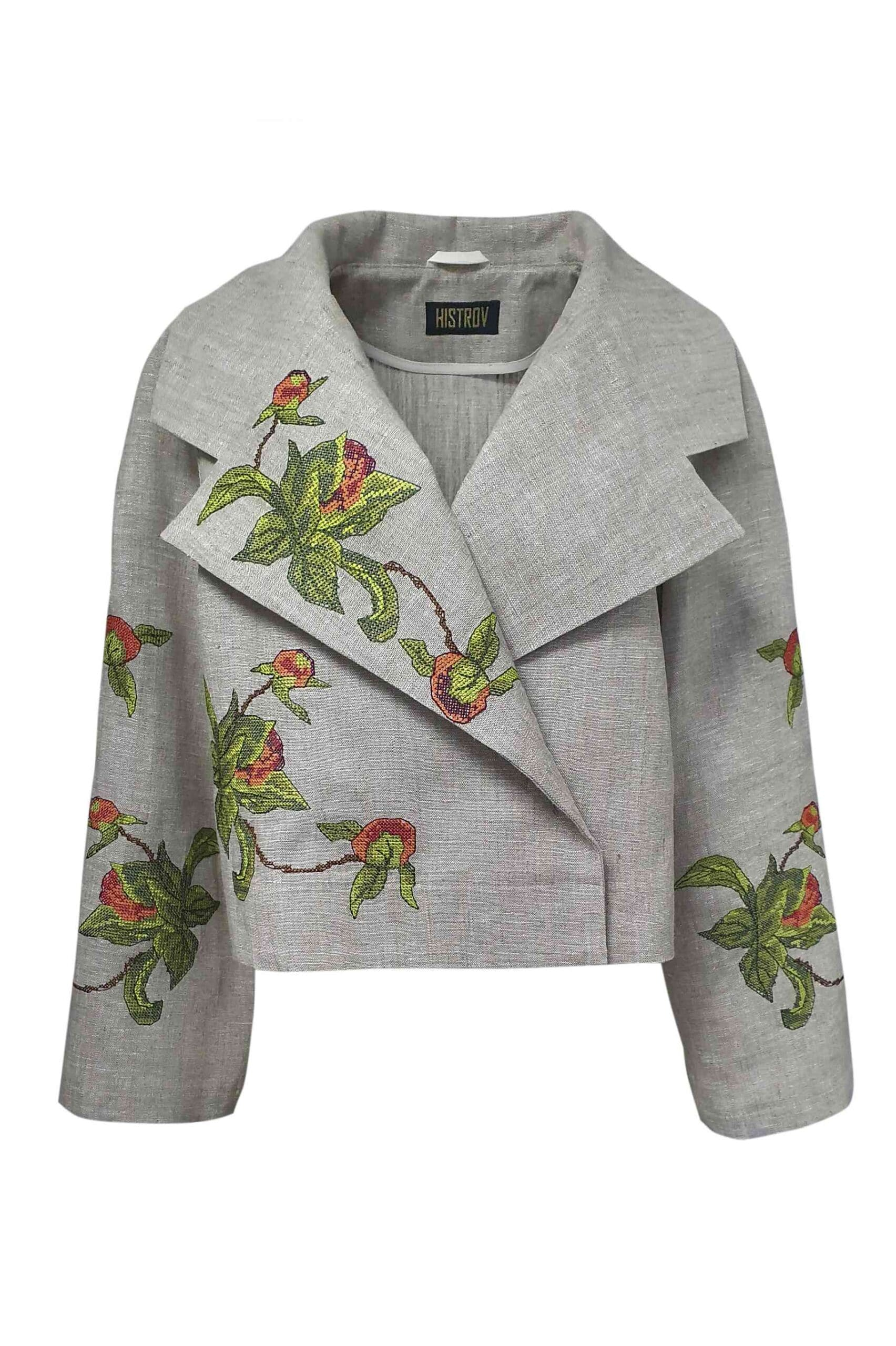 Buy a jacket with embroidery