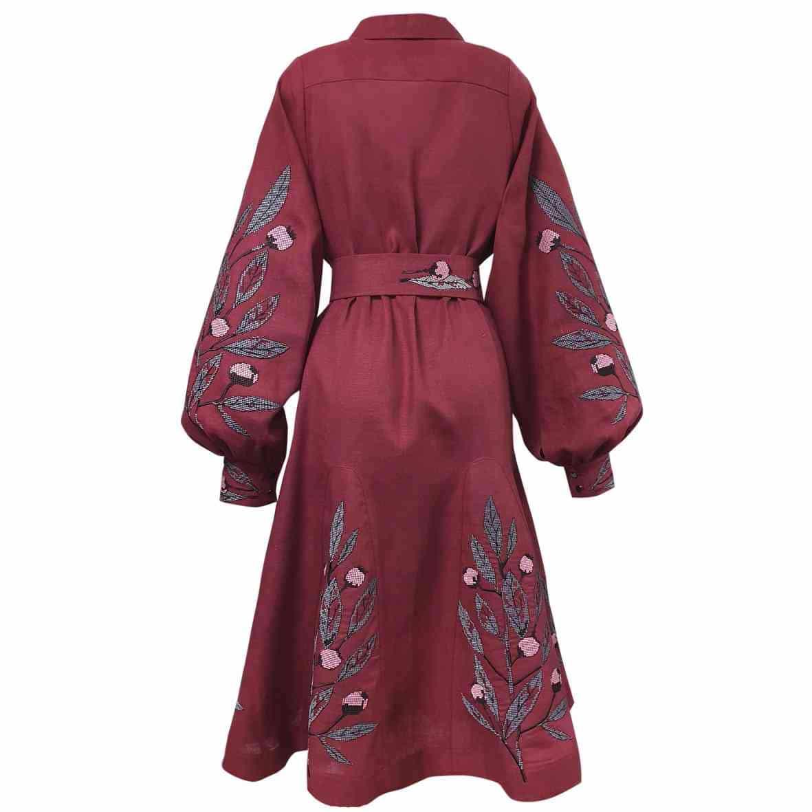 Сукня для відпочинку з вишивкою