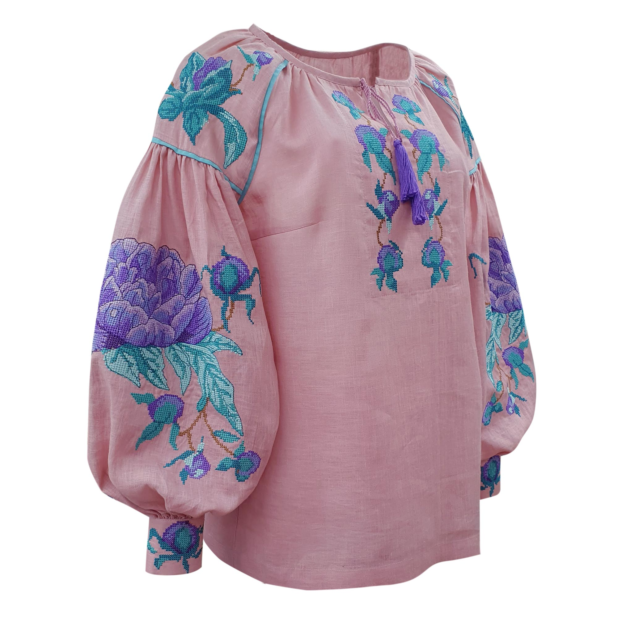 Exquisite embroidered shirt